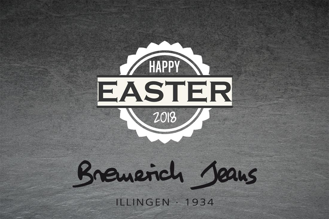 Bremerich Jeans wünscht frohe Ostern