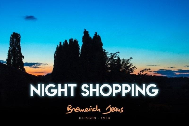Nightshopping bei Bremerich Jeans in Illingen