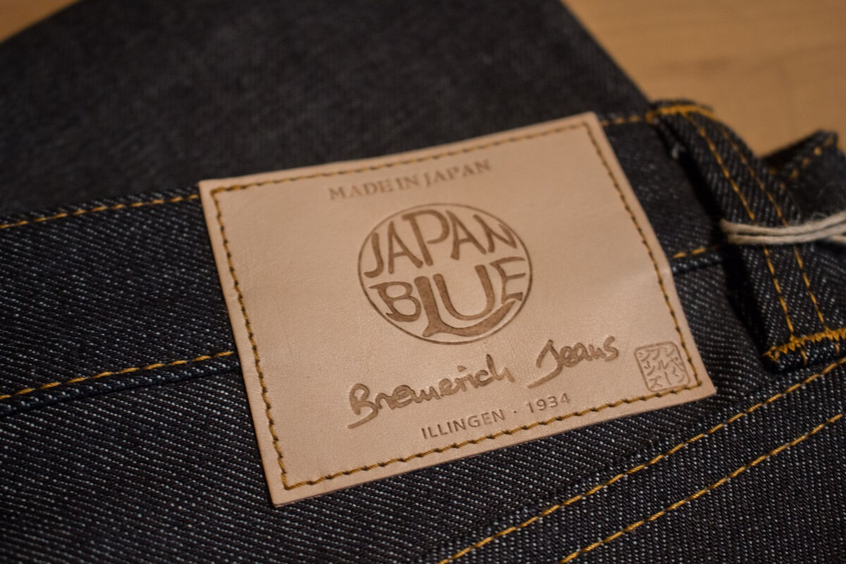 Bremerich Jeans mit eigenem Leder -Label