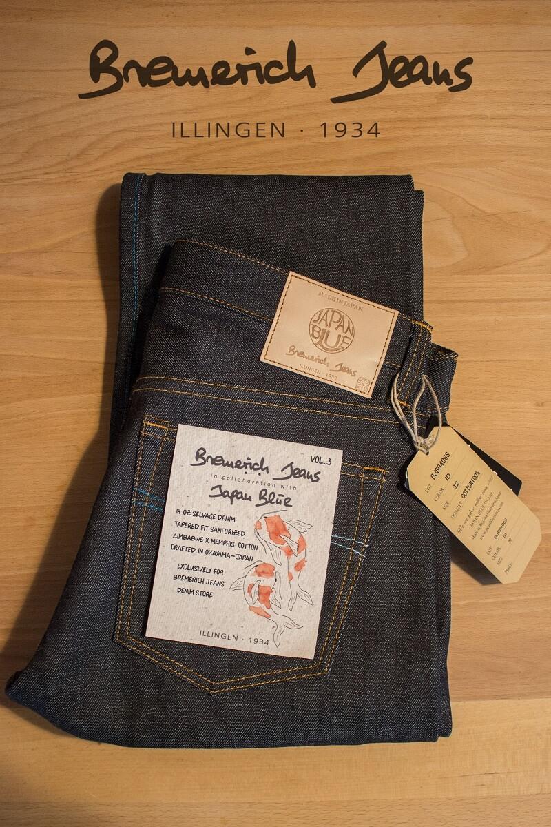 Japan Blue trifft Bremerich: Unsere neue JeansJapan Blue trifft Bremerich: Unsere neue Jeans