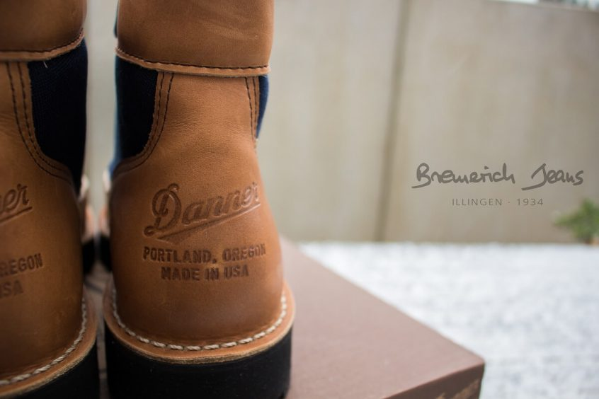 Danner Boots aus Portland, Oregon U.S.A. bei Bremerich Jeans in Illingen
