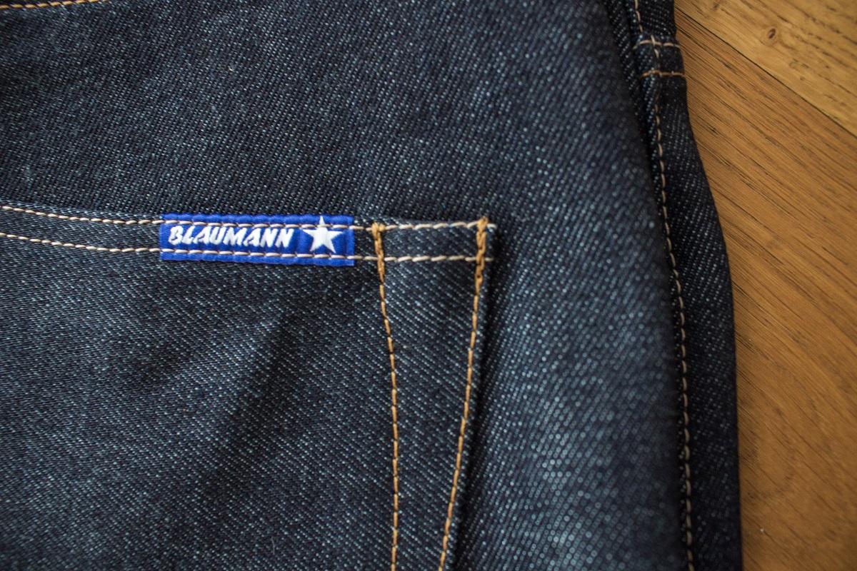 Blaumann Denim - gefertigt auf importierten Webstühlen