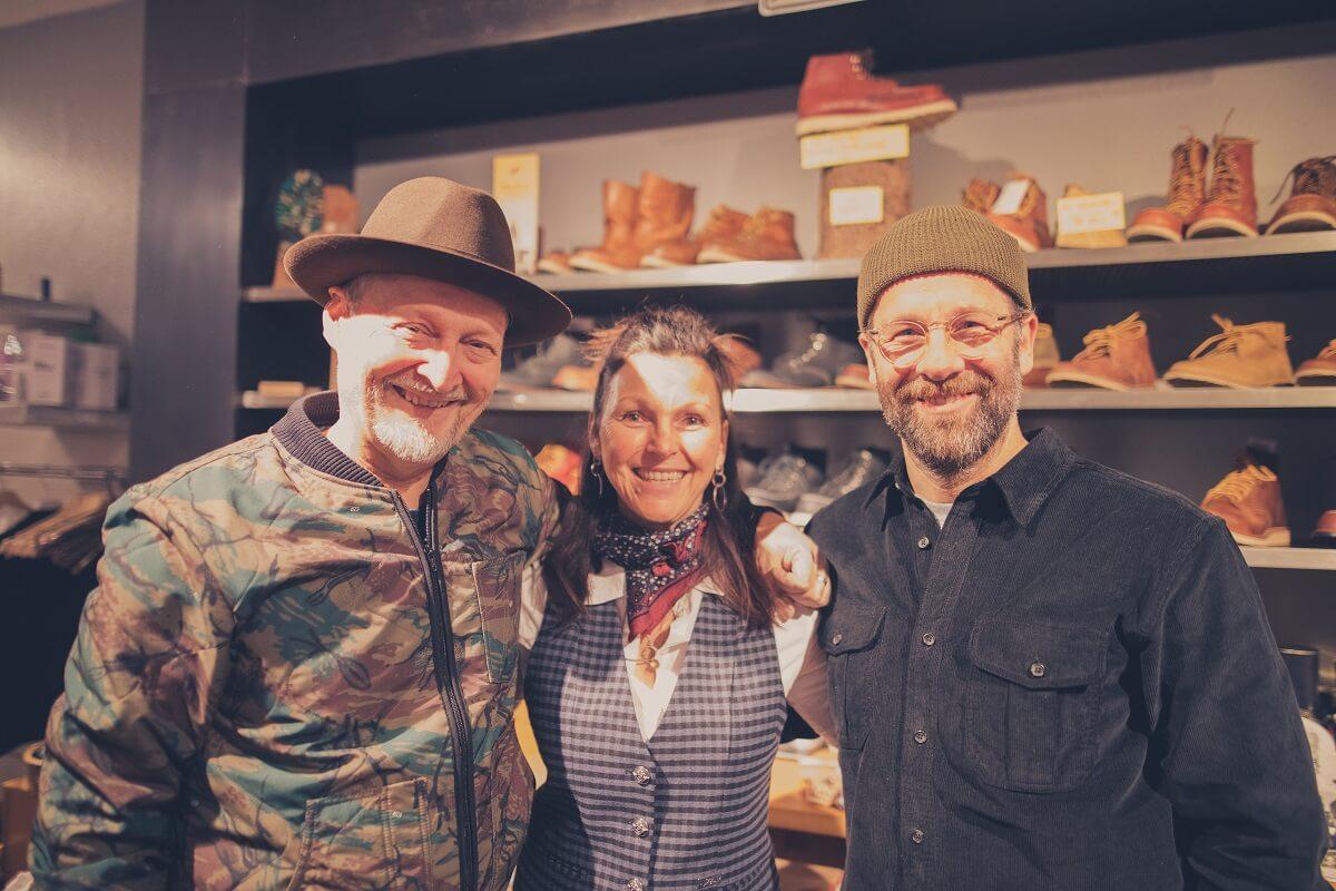 Oliver und Katja Bremerich mit Alex Donk (rechts)
